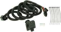 Curt 5th Wheel/Gooseneck Custom Wiring Harness w/ 7-Pole Connector - 10' Long