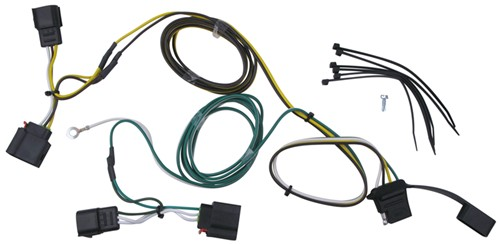 trailer wiring harness installation 2012 jeep grand cherokee curt t connector vehicle wiring harness 4 pole flat trailer connector