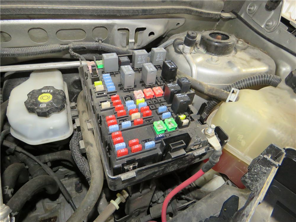2007 Chevrolet Equinox Custom Fit Vehicle Wiring