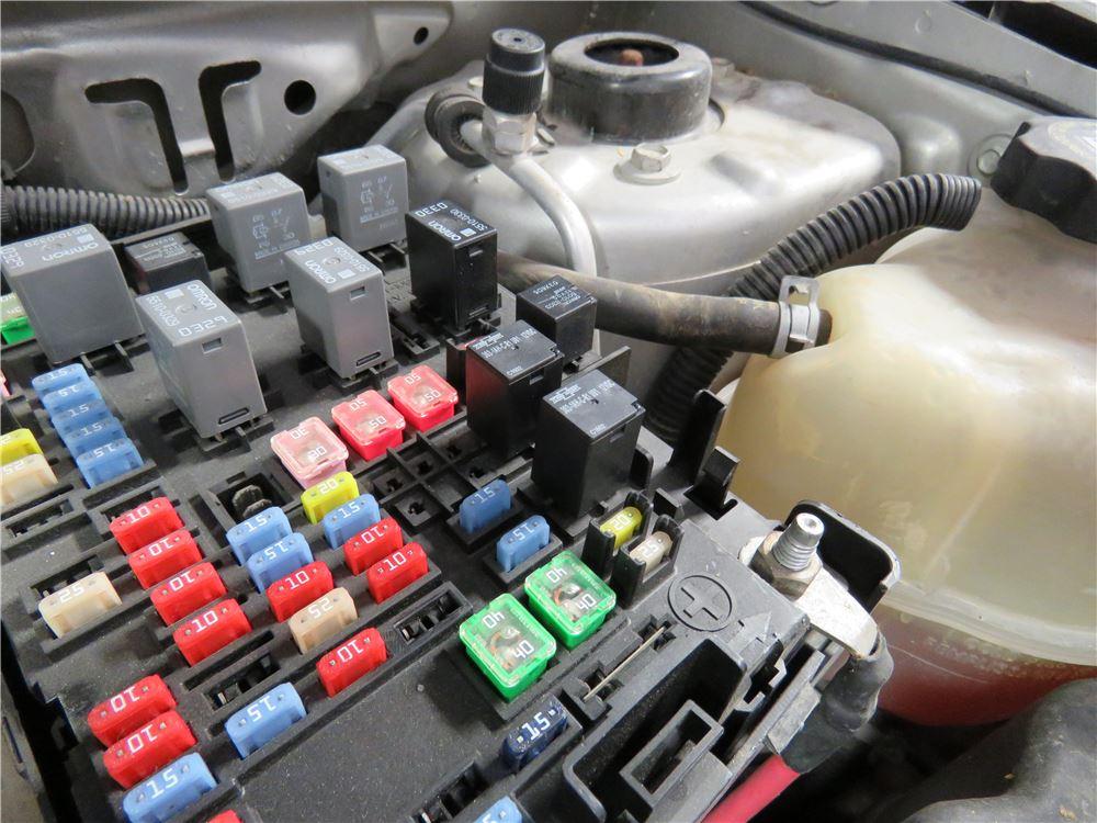 Trailer Wiring Harness For 2008 Equinox : Chevrolet equinox custom fit vehicle wiring curt