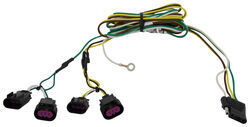 Curt 2010 Chevrolet Malibu Custom Fit Vehicle Wiring