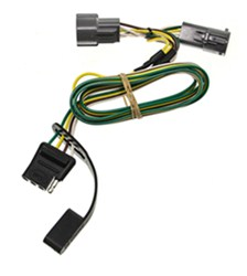 Curt 2007 Ford F-250 and F-350 Super Duty Custom Fit Vehicle Wiring