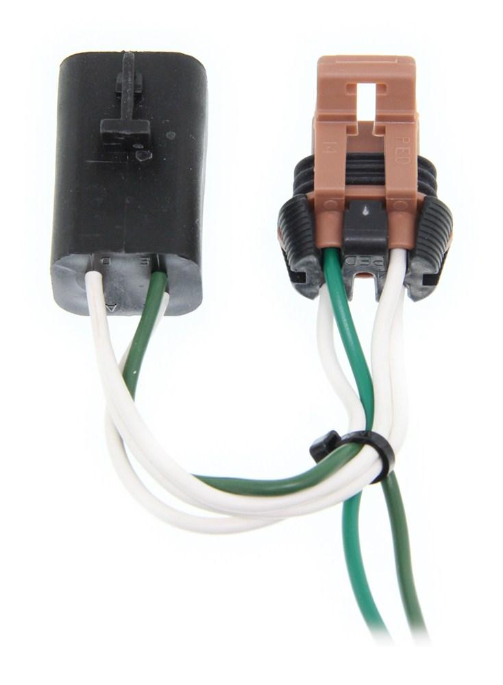 2008 gmc sierra trailer wiring diagrams 2008 gmc acadia curt t-connector vehicle wiring harness ... 2008 gmc acadia trailer wiring harness