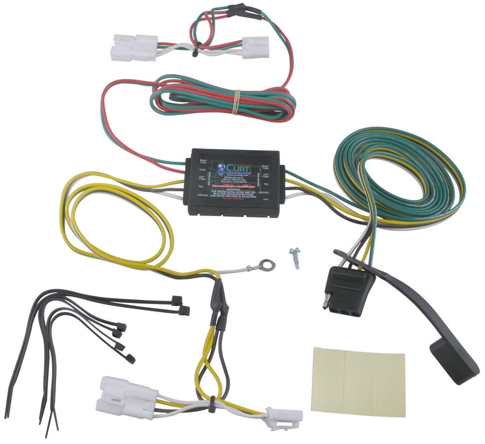 2009 Hyundai Santa Fe Trailer Wiring Harness Real Diagram Jeep Custom Fit Vehicle Curt 2008
