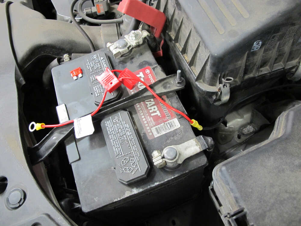 2010 Toyota Corolla Trailer Wiring Harness : Toyota venza curt t connector vehicle wiring harness