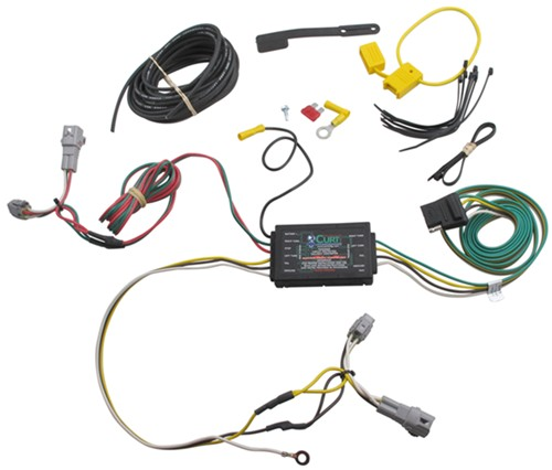 subaru tribeca trailer wiring harness 2008 subaru outback wagon custom fit vehicle wiring - curt subaru trailer wiring harness diagram