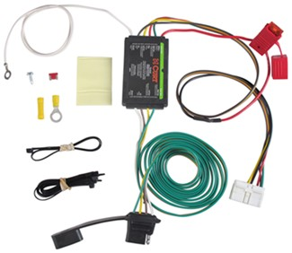 C56118 curt custom vehicle to trailer wiring harness available via  at couponss.co
