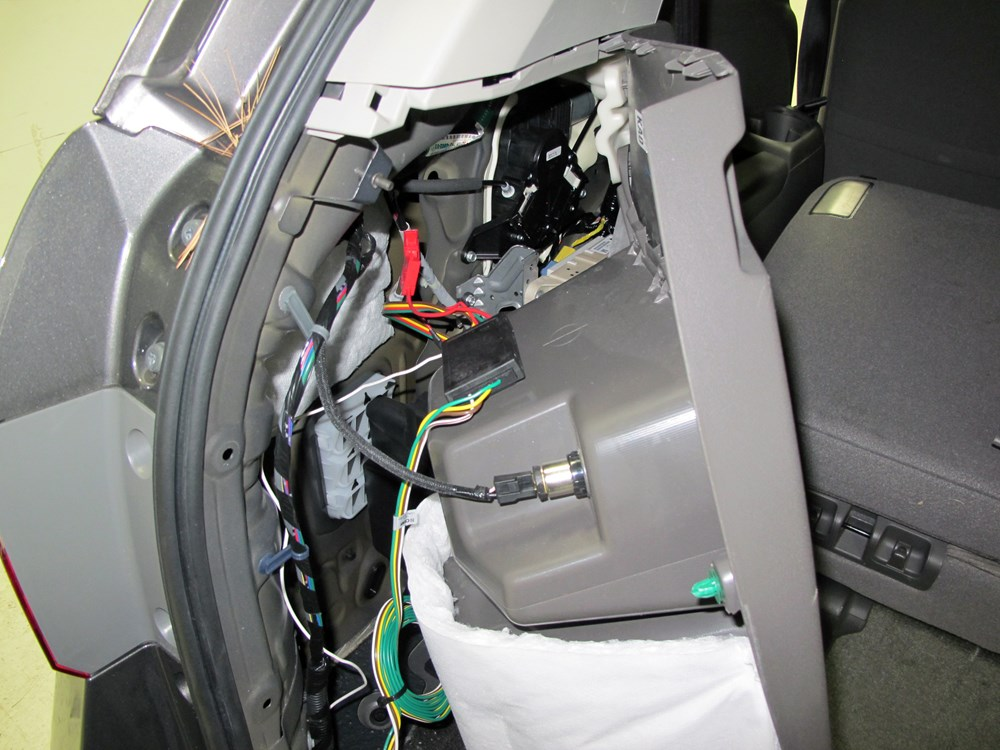 2013 honda odyssey custom fit vehicle wiring curt