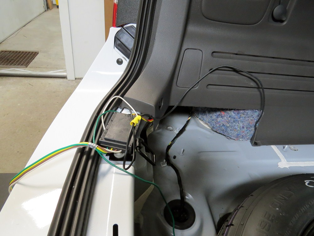 2014 ford edge trailer hitch wiring 2014 ford edge curt t-connector vehicle wiring harness ...