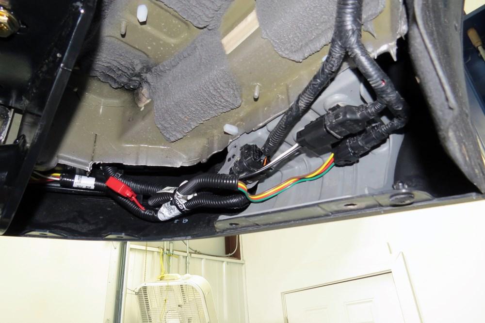 2012 Hyundai Santa Fe Trailer Wiring Harness : Custom fit vehicle wiring by curt for santa fe c