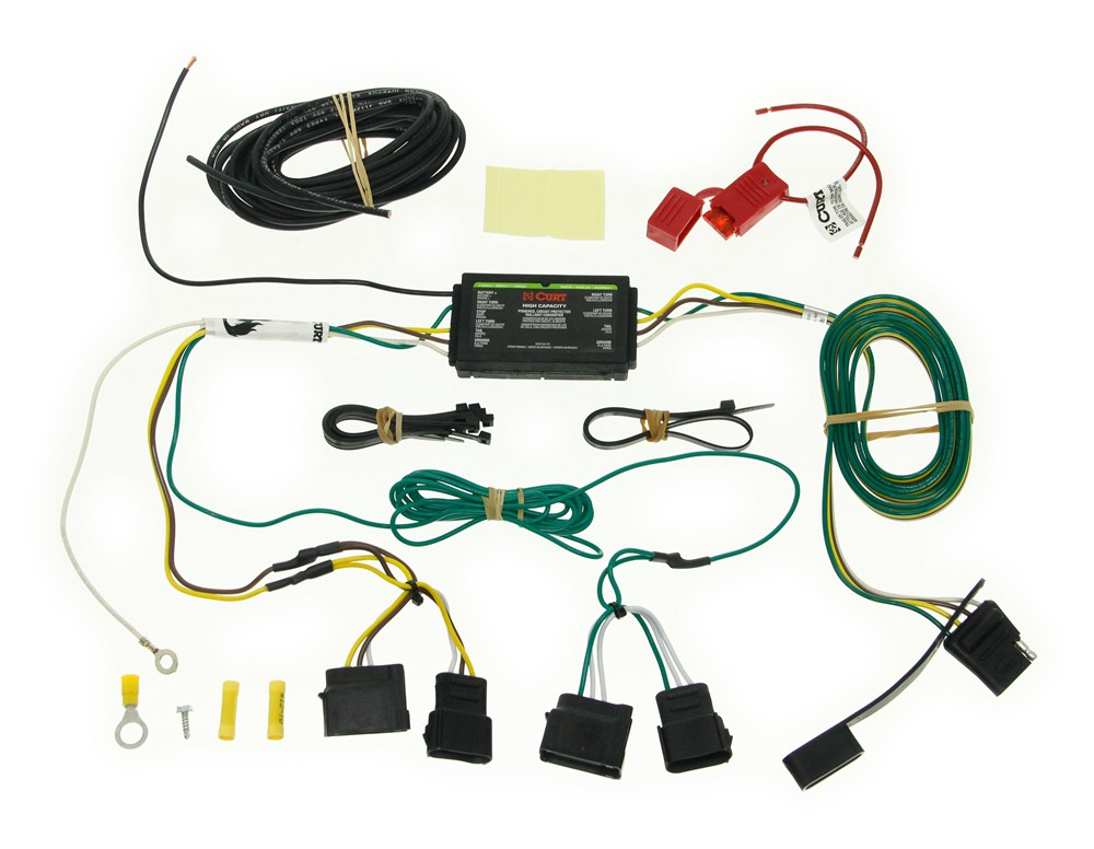 Ford edge trailer hitch wiring harness