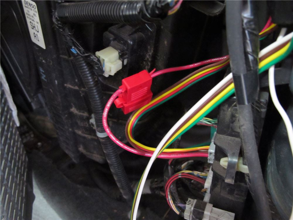 2005 Honda Odyssey Curt T Connector Vehicle Wiring Harness