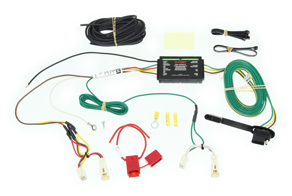 Trailer Wiring Harness Rav4 : Toyota rav custom fit vehicle wiring curt