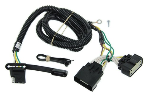 trailer wiring harness installation 2013 ford explorer video rh etrailer com ford wiring loom connectors ford wiring harness connectors