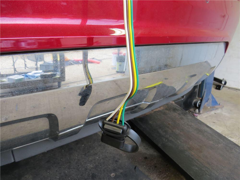 Trailer Wiring Harness 2012 Equinox : Custom fit vehicle wiring curt