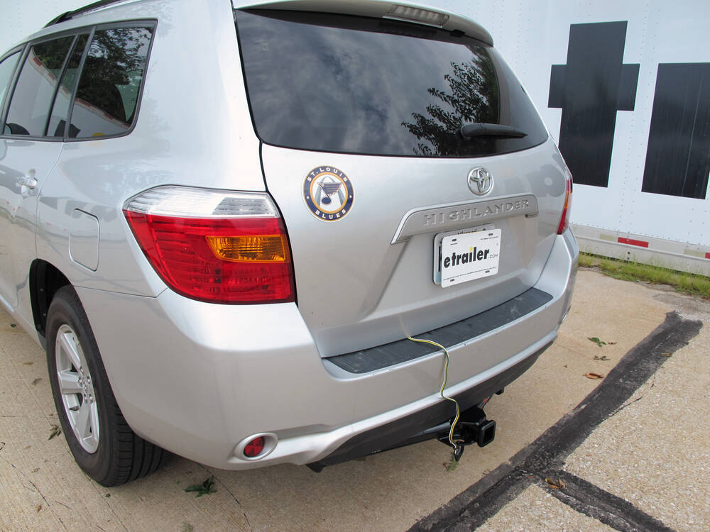 2010 Toyota Highlander Custom Fit Vehicle Wiring