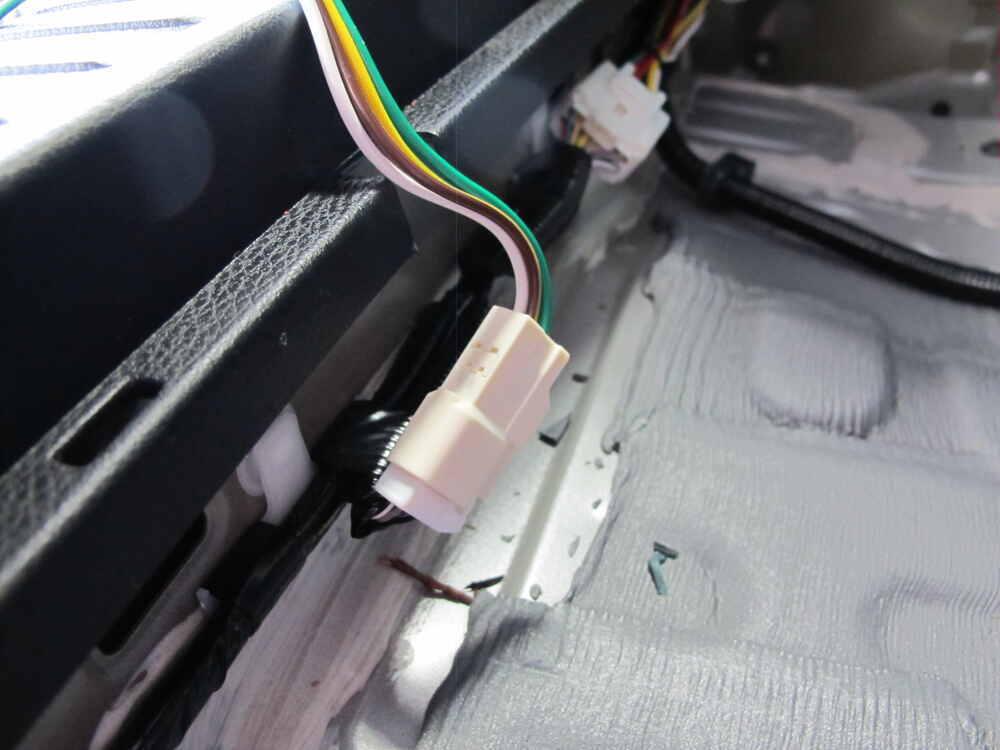 Trailer Wiring Harness 2014 Toyota Sienna : Toyota highlander curt t connector vehicle wiring