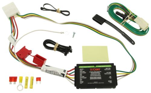 C56217_5_500 curt t connector vehicle wiring harness with 4 pole flat trailer  at webbmarketing.co