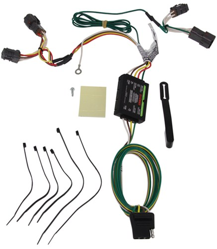 trailer wiring harness installation 2016 kia soul video etrailer com rh etrailer com T-Connector Hitch Wiring Harness kia sorento hitch wiring harness