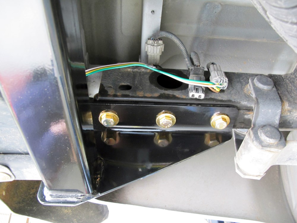 Nissan Frontier Wiring Harness Installation : Nissan frontier curt t connector vehicle wiring