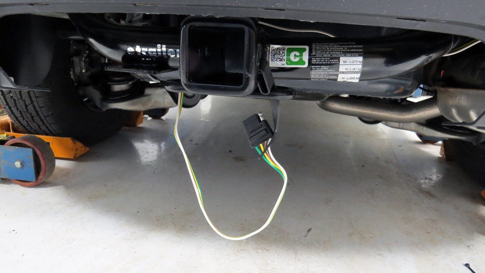 Curt T-Connector Vehicle Wiring Harness for Factory Tow ...