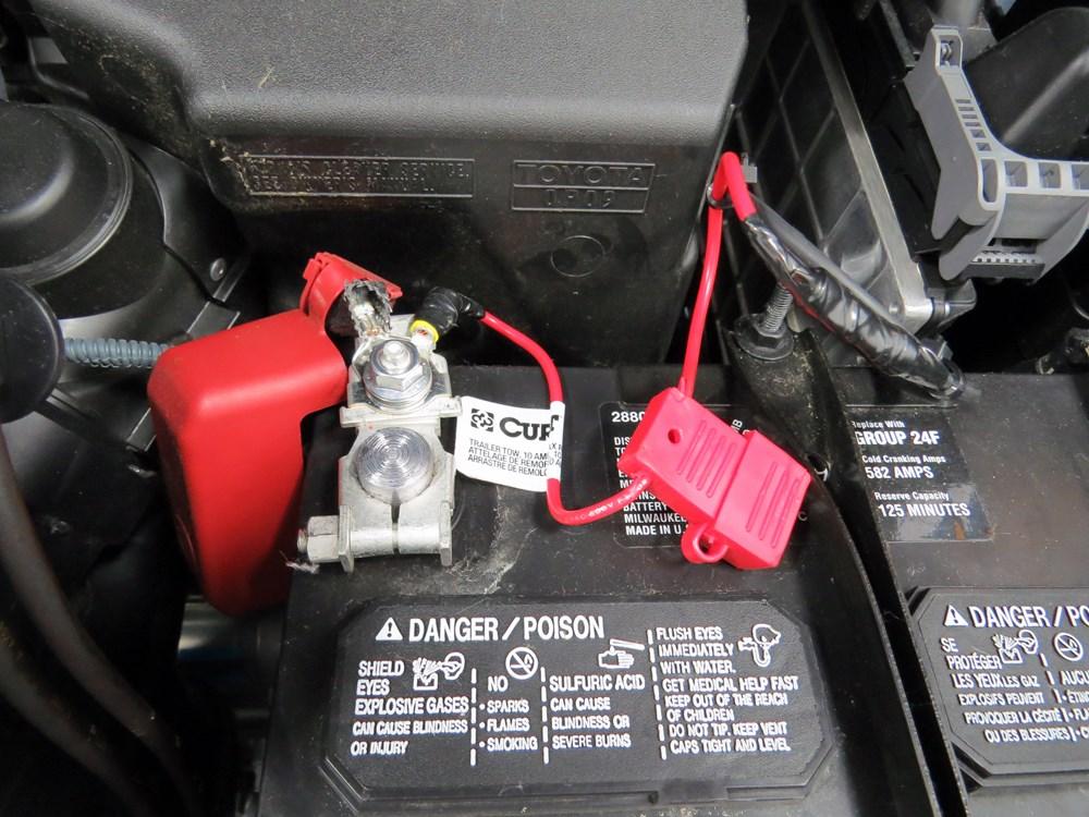 Trailer Wiring Harness 2014 Toyota Sienna : Toyota sienna custom fit vehicle wiring curt