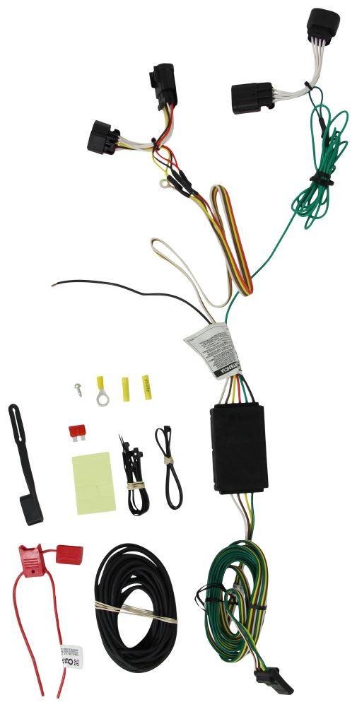 2016 ram promaster city custom fit vehicle wiring curt. Black Bedroom Furniture Sets. Home Design Ideas