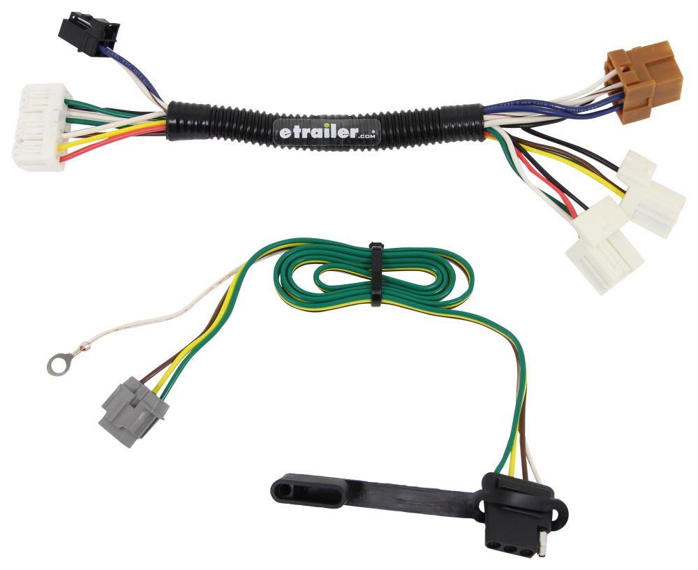 2017 nissan pathfinder custom fit vehicle wiring curt