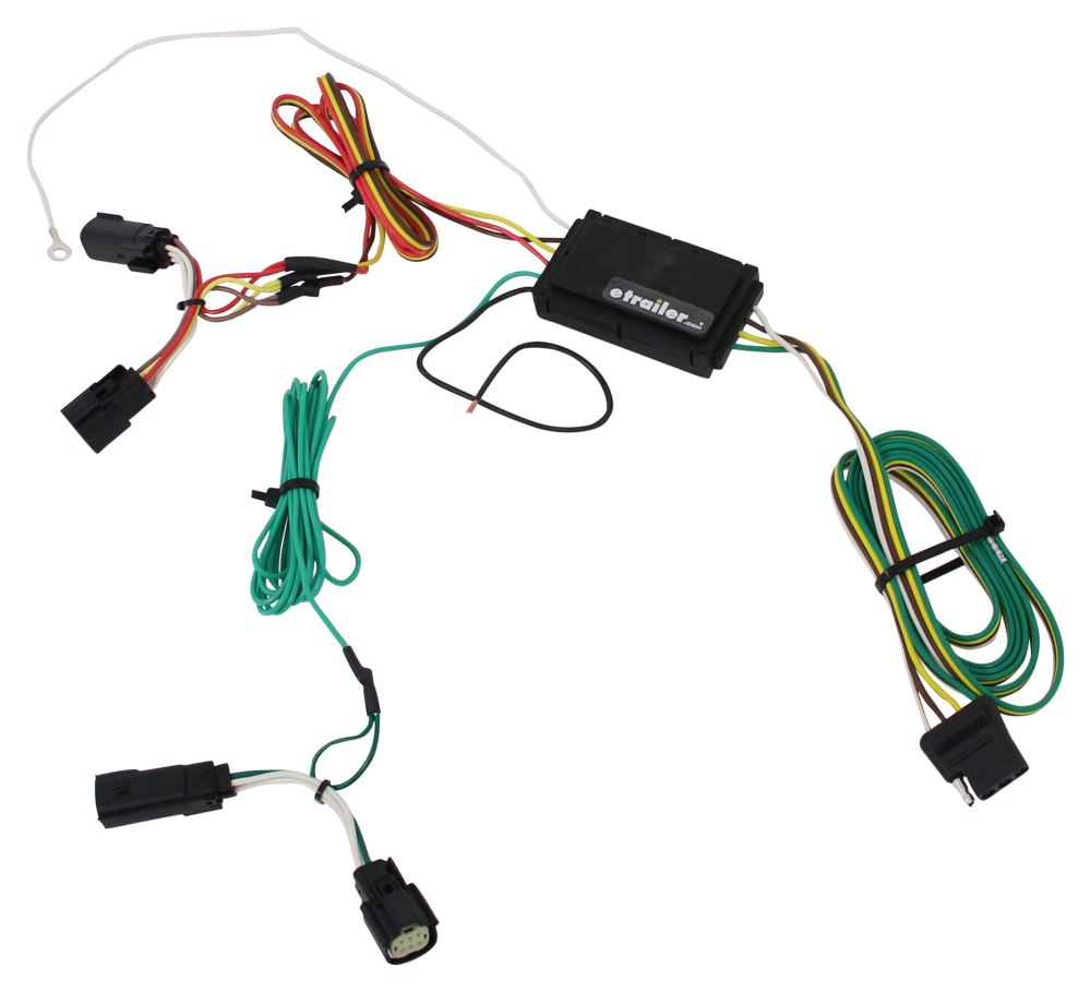 Ford edge custom fit vehicle wiring curt