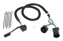 Curt 2011 Ford F-250 and F-350 Super Duty Custom Fit Vehicle Wiring