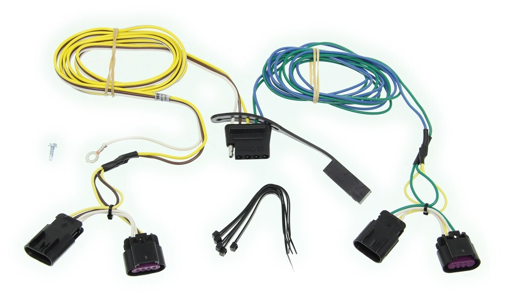 2015 Chevrolet Equinox Custom Fit Vehicle Wiring Curt