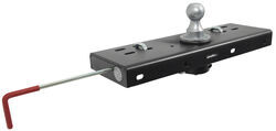 Curt Double Lock, Flip and Store Gooseneck Hitch - 30,000 lbs