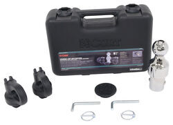 Curt Ball and Safety Chain Loop Kit for Chevy, Ford, GM, and Nissan Underbed Gooseneck Trailer Hitch