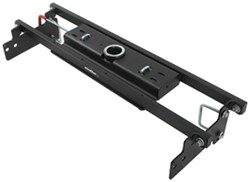 Curt Double Lock, Flip and Store Underbed Gooseneck Hitch w/ Installation Kit - 30,000 lbs