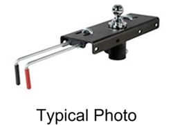 Curt Quick Goose 2 Gooseneck Hitch with Installation Kit for Ford - 30,000 lbs
