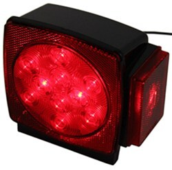 Blazer Trailer Tail Light - 6 Function - LED - Submersible - 11 Diodes - Red Lens - Passenger Side