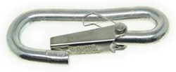"Curt Hook with Spring Loaded Safety Latch for Safety Chains and Cables - 3/8"" - 2,000 lbs"