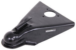 "A-Frame Trailer Coupler - Thumb Latch - Black - 2-5/16"" Ball - Weld On - 14,000 lbs"