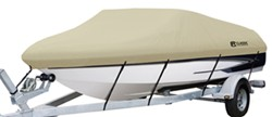 "Classic Accessories DryGuard Waterproof Boat Cover - 14' to 16' Long - Up to 75"" Beam"