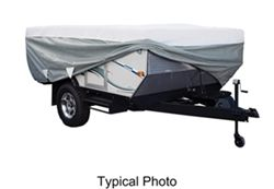 Classic Accessories Deluxe PolyPro III Heavy-Duty Pop-Up Camper Cover - 8' - 10' Long