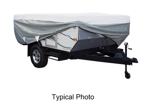 classic accessories deluxe polypro iii heavyduty popup camper cover 12u0027 14u0027 long classic accessories rv covers ca80040