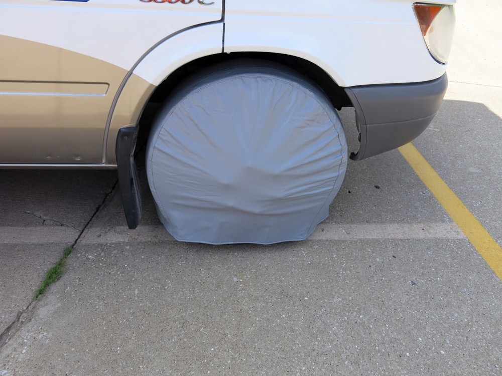 Model  Tire Covers  30quot32quot  Qty 2  Colonial White Camco RV Covers