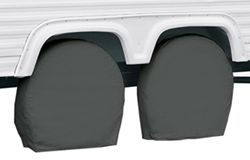 "Classic Accessories RV Wheel Covers - 32"" to 34-1/2"" - Gray"