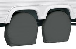 "Classic Accessories RV Wheel Covers - 36"" to 39"" - Gray"