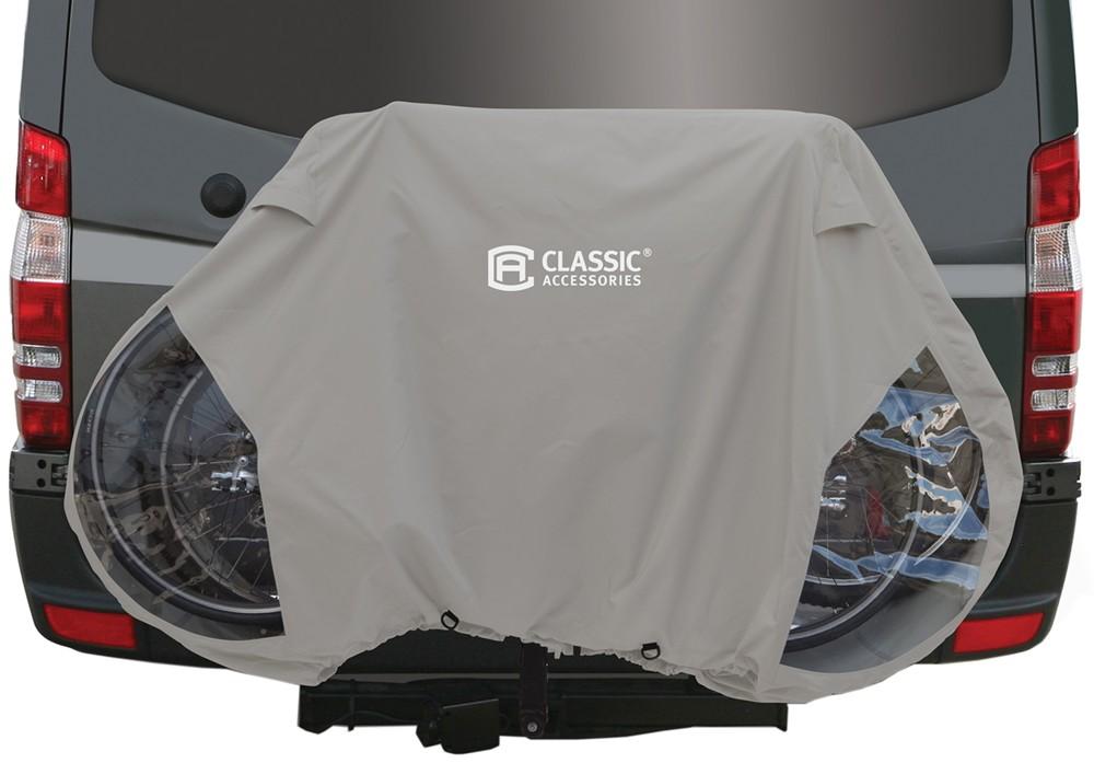 Bike rack cover