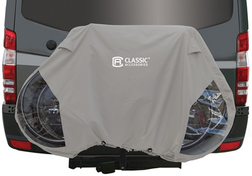 Classic Accessories Deluxe 3 Bike Cover For Rv Hitch Mounted Racks