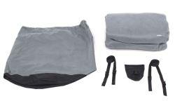 Classic Accessories Deluxe PolyPro III Heavy-Duty Cover for R Pod Trailer Up to 16-1/2' Long