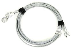 Replacement Cables for Enclosed Trailer Ramp Spring