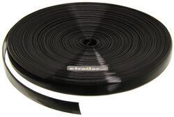 Camco RV Vinyl Trim Insert - Black - 100' Long x 1
