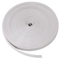 "Camco RV Vinyl Trim Insert - White - 100' Long x 3/4"" Wide"